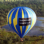 Hot Air Balloon Rides near Disney World